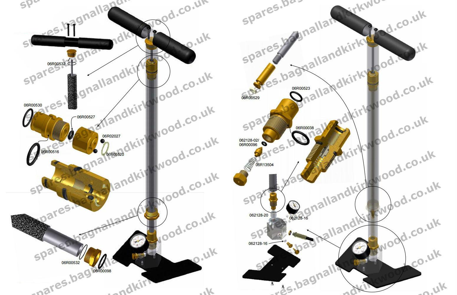 Bsa Air Rifle Hand Pumps