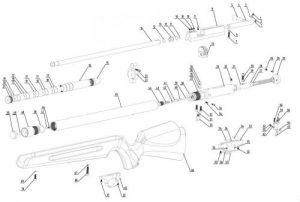 SMK Artemis P10 & P12 - Bagnall and Kirkwood Airgun Spares
