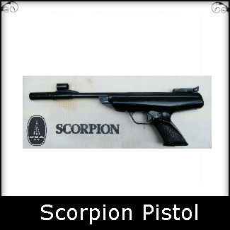 BSA Scorpion MK1 MK2 Pistol Spare Parts