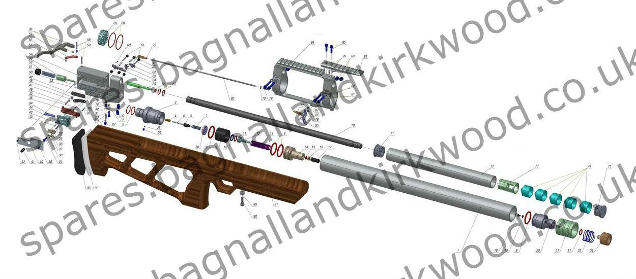 Kalibrgun Cricket - Bagnall and Kirkwood Airgun Spares on
