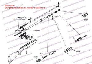 Benjamin Discovery Bagnall And Kirkwood Airgun Spares