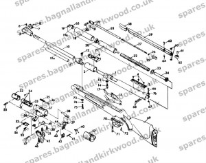 rws diana original mod. 48 | bagnall and kirkwood airgun ... bobcat 753 parts diagram model diana model 34 parts diagram