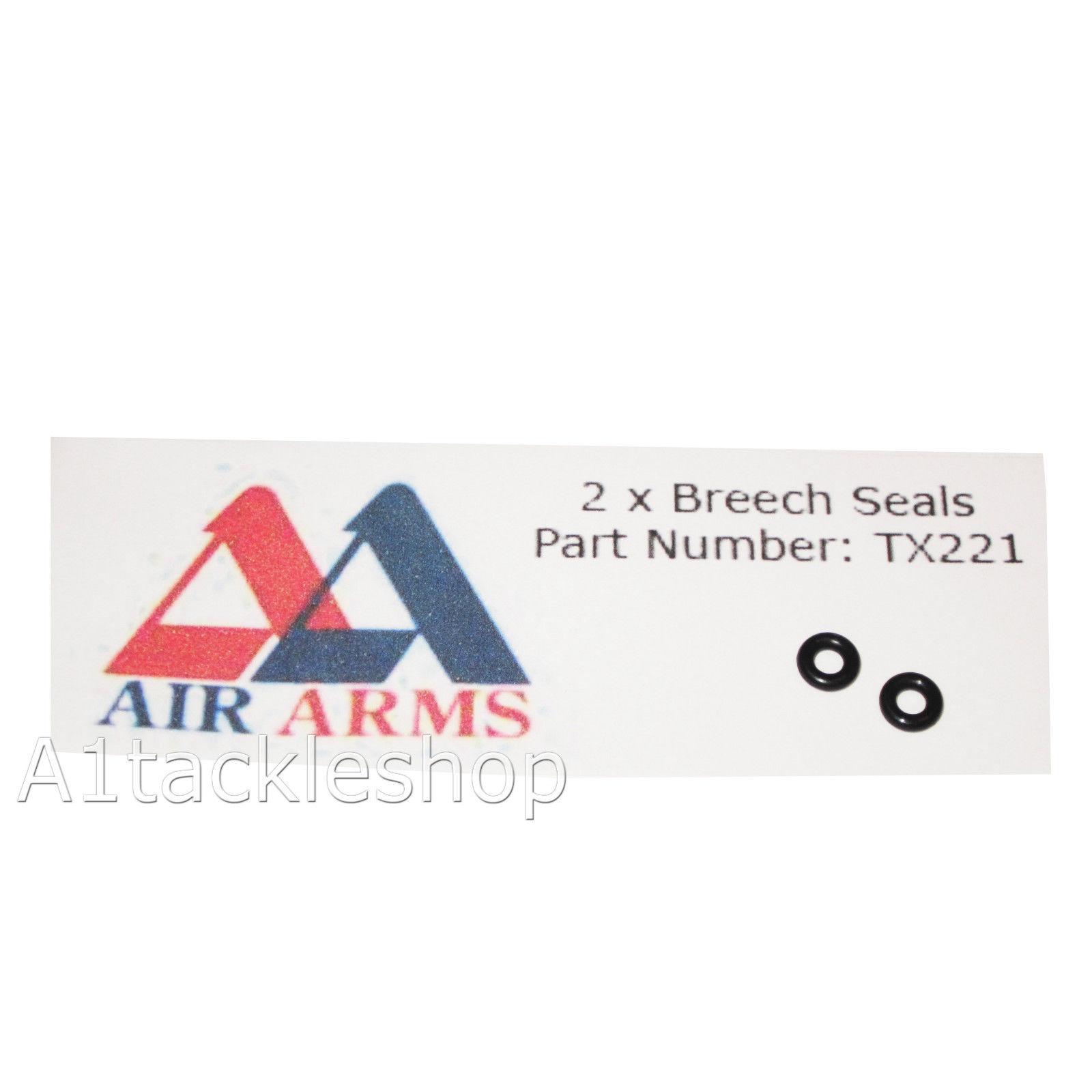 2 x Air Arms TX200 & ProSport Breech Seals Ref-60