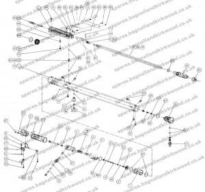 Webley Axsor Air Rifle Exploded Parts Diagram