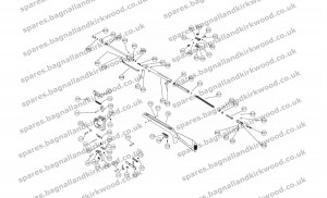 Webley Blackhawk Air Rifle Exploded Parts Diagram