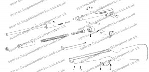 Webley Excel Air Rifle Exploded Parts Diagram