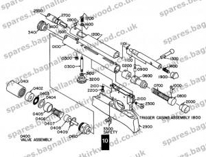 Webley Firebolt-Air-Rifle-Exploded-Diagram