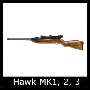 Webley Hawk Air Rifle Spare Parts