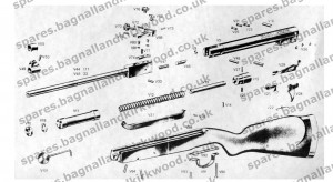Webley Vulcan Air Rifle Exploded Parts Diagram