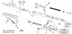 bsa diagrams with Bsa Scorpion Mk1 Mk2 Pistol on Bsa Scorpion Mk1 Mk2 Pistol further Boat Wiring Diagram Symbols as well Basic Motorcycle Diagram furthermore Planos De Armas De Aire 17 besides 1972 Triumph Motorcycle Wiring Diagram.