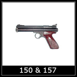 Crosman 150 157 Airgun Spare Parts