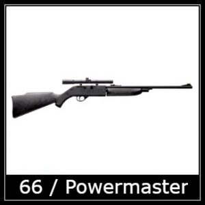 Crosman 66 Powermaster Airgun Spare Parts