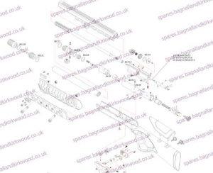 Xisico Sentry Air Rifle Exploded Parts List Diagram A