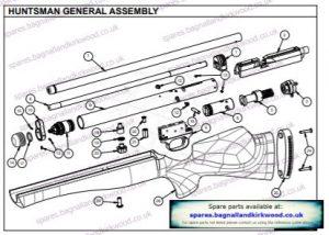 Daystate Huntsman Regal - Bagnall and Kirkwood Airgun Spares