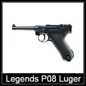 Umarex Legends P08 air pistol Spare Parts