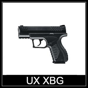 Umarex UX XBG air pistol Spare Parts