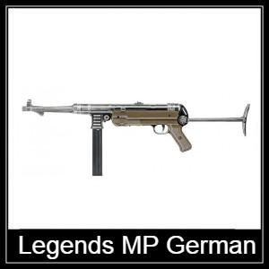 Umarex Legends MP German air pistol Spare Parts