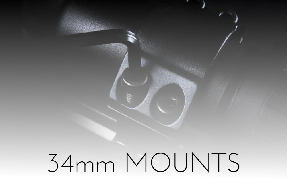 34mm mounts